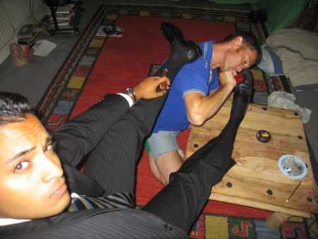 Gay Male Sock Worship 67
